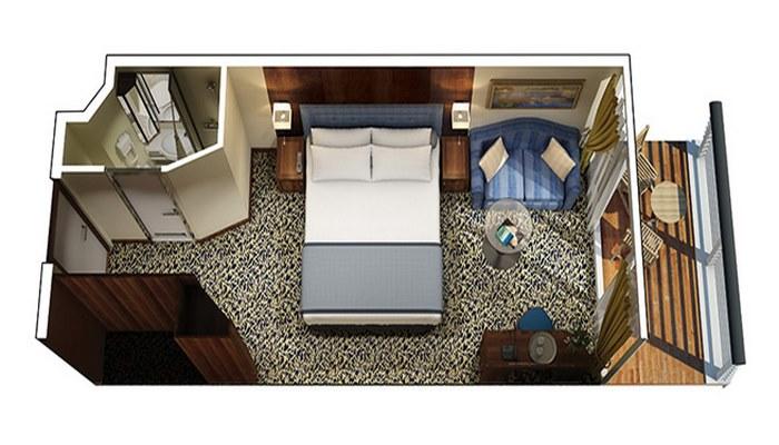 Cabine Véranda niveau Concierge - A1