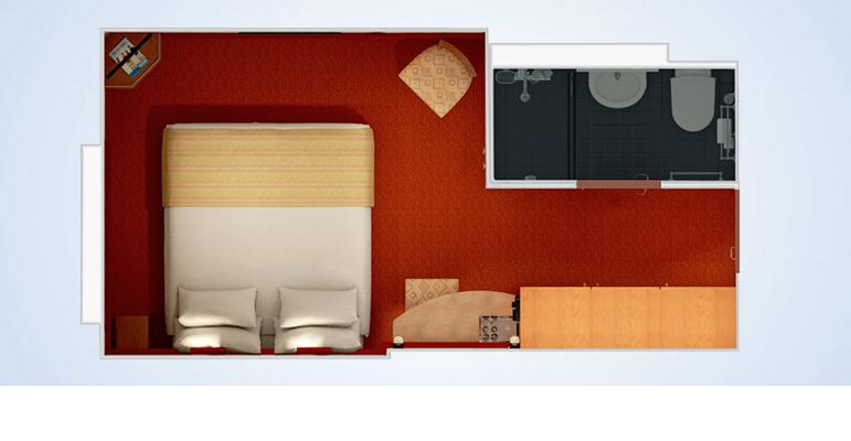 Cabine intérieure - 4D