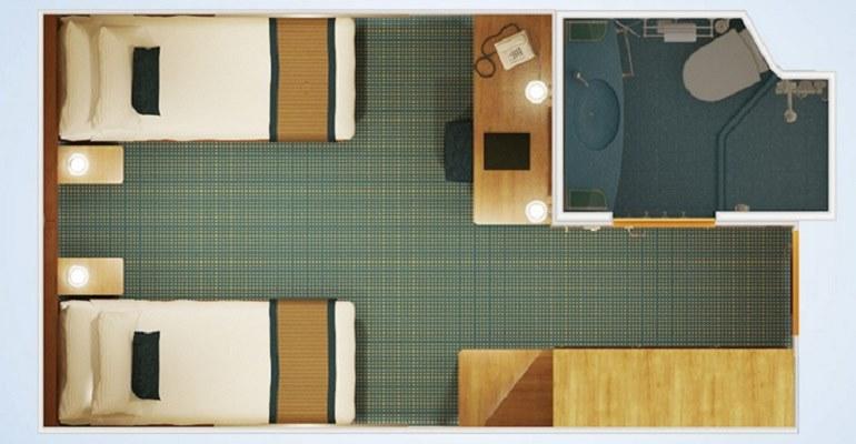 Cabine intérieure - 4H