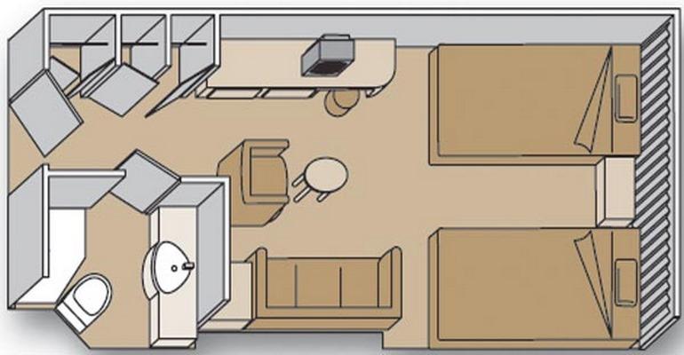 Cabine intérieure - N