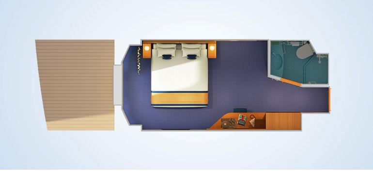 Cabine intérieure avec fenêtre / vue réduite - 4J