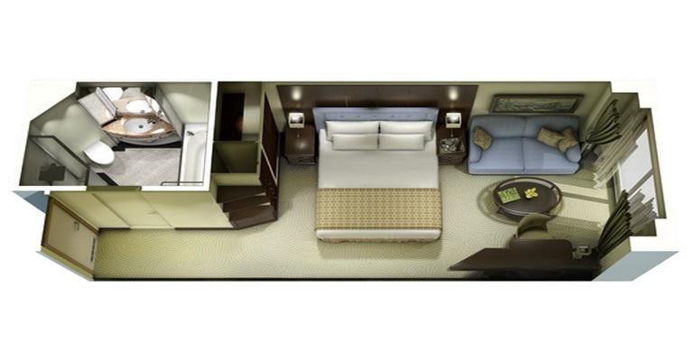 Deluxe Ocean View Stateroom - C