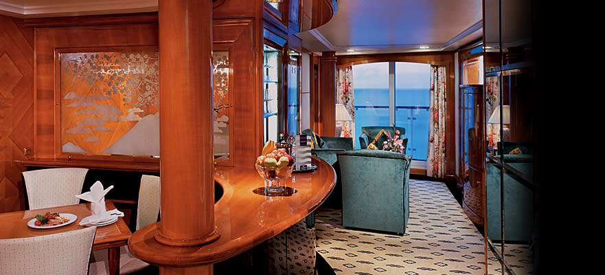 Deluxe Owner's Suite avec grand Balcon - SB
