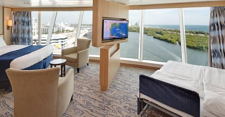 Grande Cabine vue mer Panoramique - 1L
