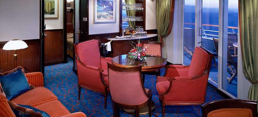 Owner's Suite avec grand Balcon - SE