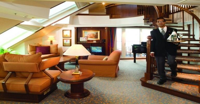 Penthouse Suite avec deux balcons - A1