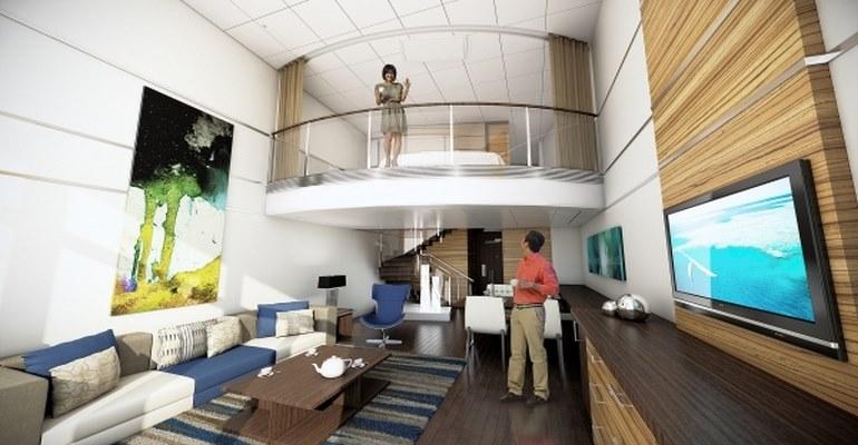 Sky Loft Suite avec Balcon - SL