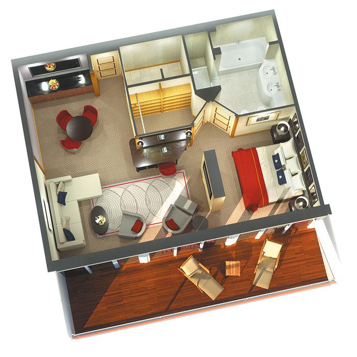 Suite Penthouse - Q4