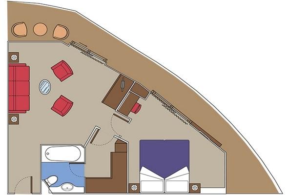 Suite Yacht Club Royal Suite - YC3