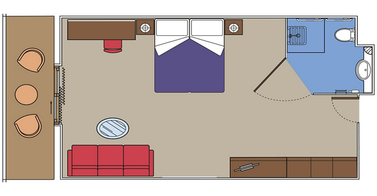 Suite Yacht Club Deluxe - YC1
