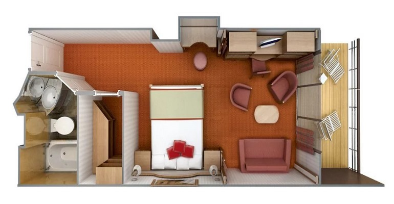Veranda Suite - VR