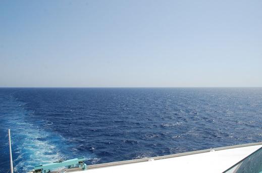 Navigation dans le Détroit de Samos