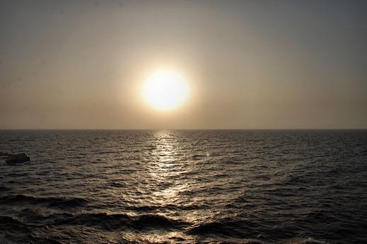 Navigation dans le Golfe de Thaïlande