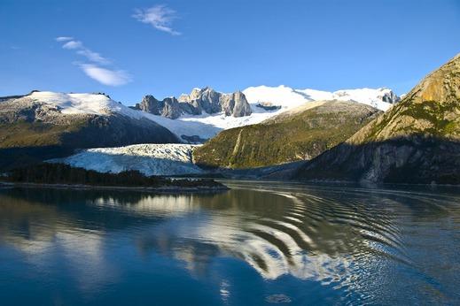 Navigation dans les Fjords Chilean