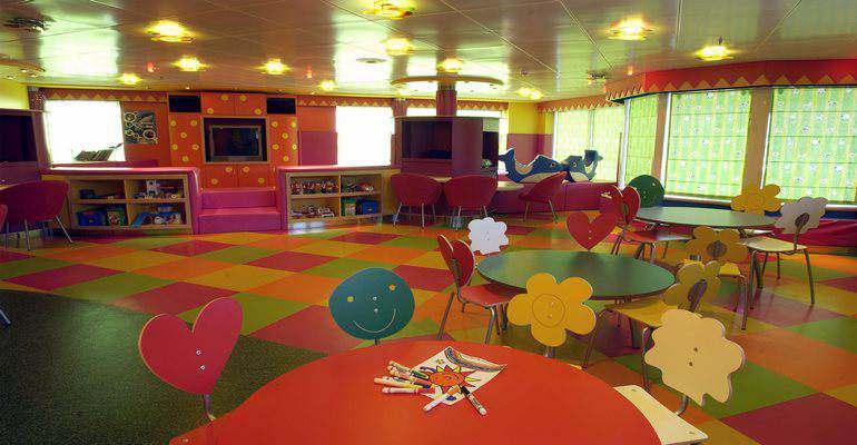 La salle de jeux des Pélicans