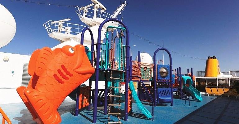Zone de jeux pour les enfants