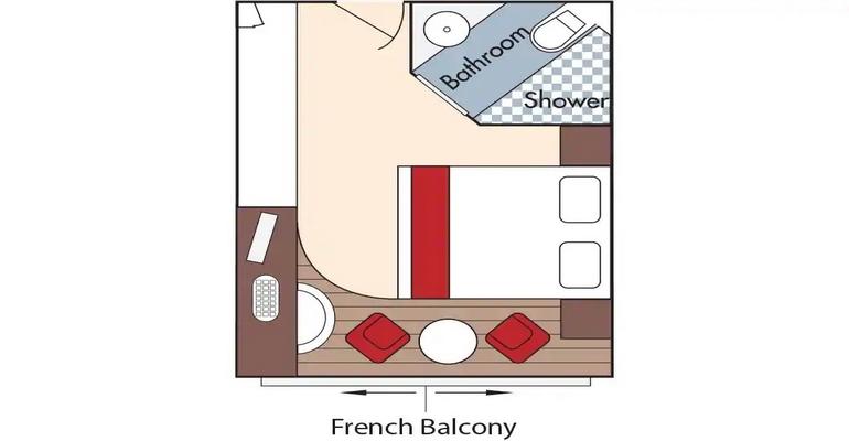 Cabine Balcon - CA