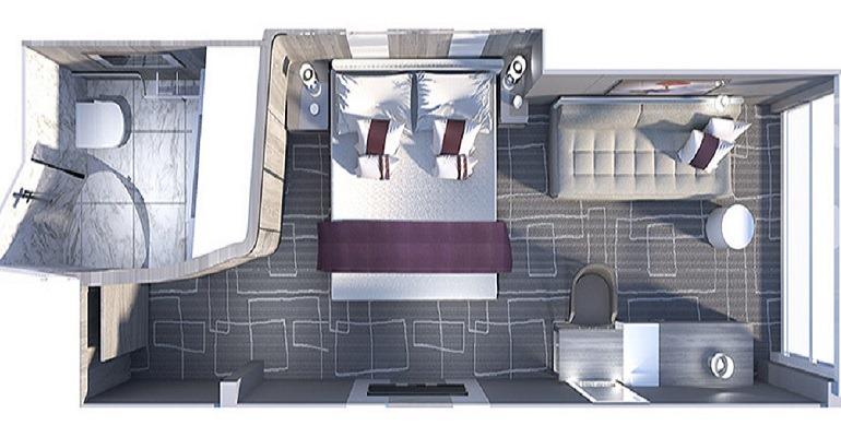 Cabine avec vue mer Panoramique - IO