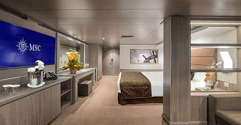 Cabine Intérieure Msc Yacht Club - YIN