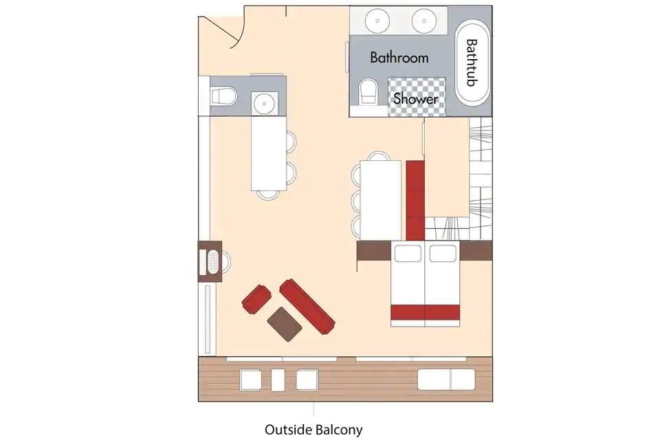 Cabine Suite - OS