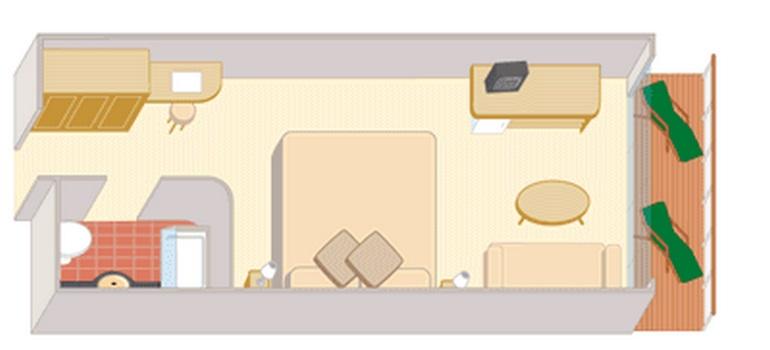 Cabine balcon - BD