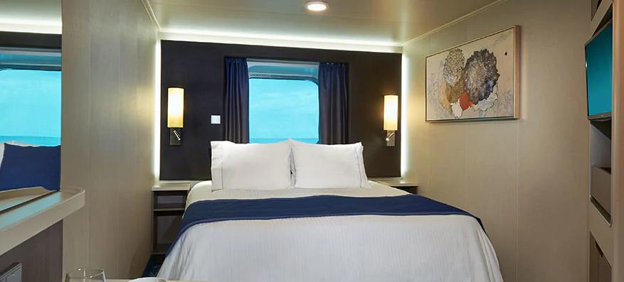 Cabine vue mer grande baie vitrée - OB