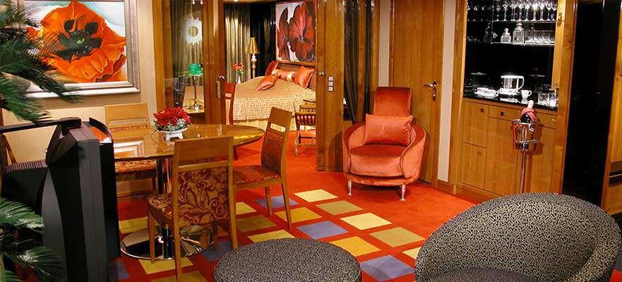 Owner's Suite avec deux Balcons - SB