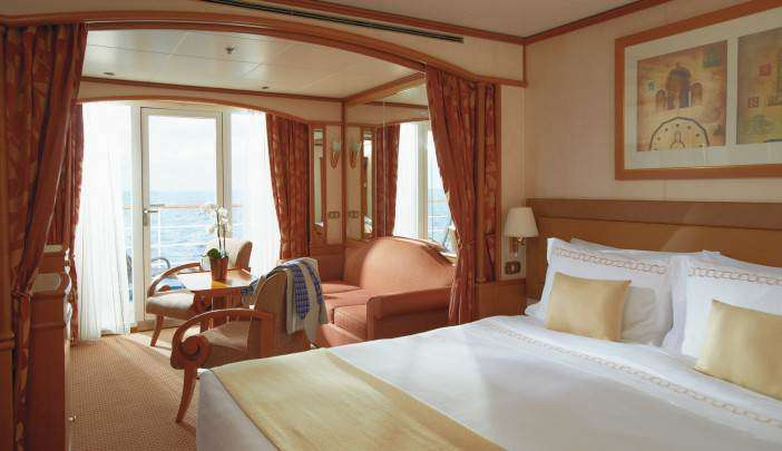 Midship Veranda Suite - DV