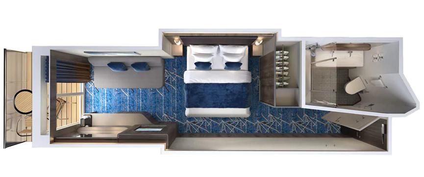 Mini-suite Balcon communicante - M8