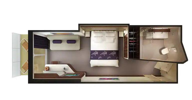 Mini Suite Balcon (Garantie) - MX