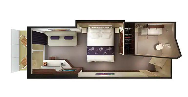 Mini Suite Familiale Balcon – M3