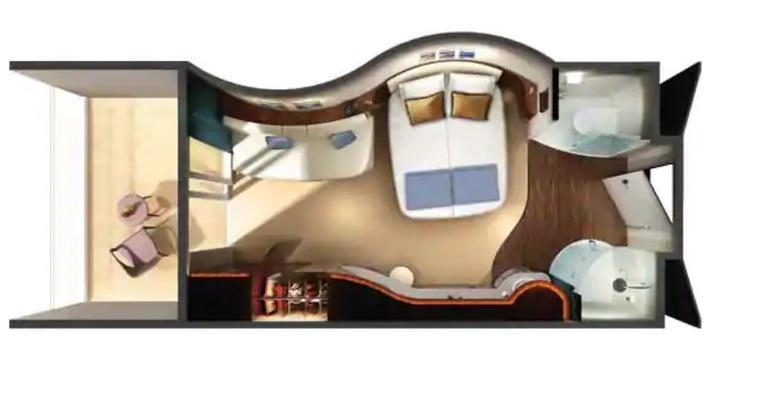 Mini Suite Spa avec Balcon - M9