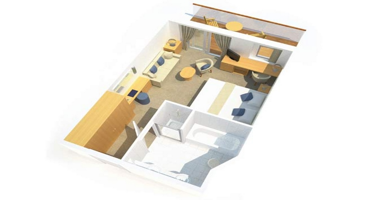 Mini Suite avec Balcon - CB
