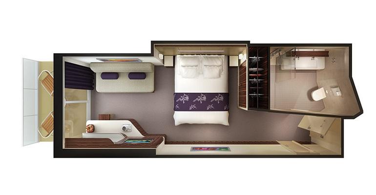 Mini Suite Familiale Balcon - M4