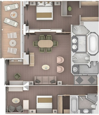 Owner's Suite 1 chambre - O1