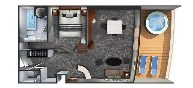 Owner's Suite avec balcon - SA