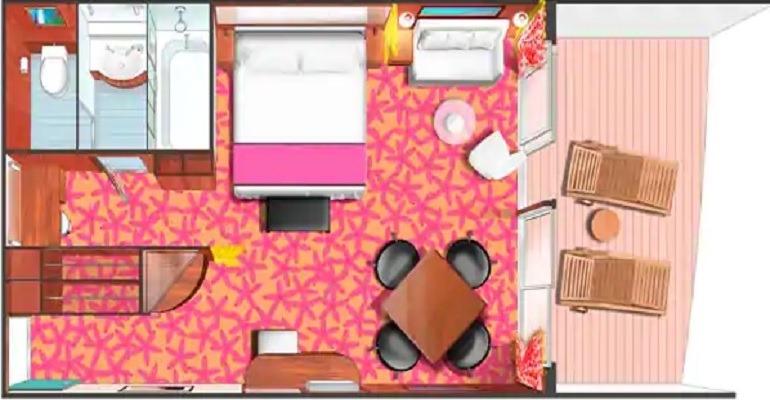 Penthouse Suite avec Grand Balcon (à l'arrière) - SF