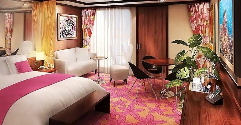 Penthouse Suite avec grand balcon - SE