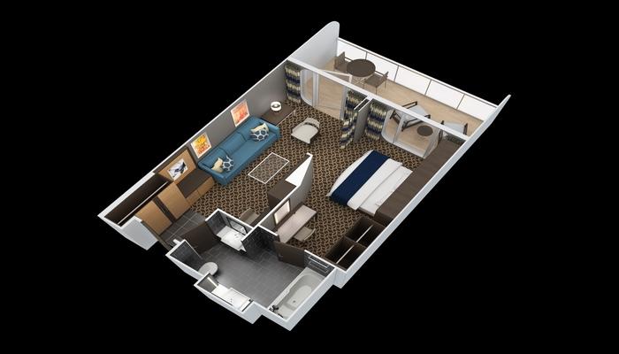 Sky Loft Suite Balcon - SL