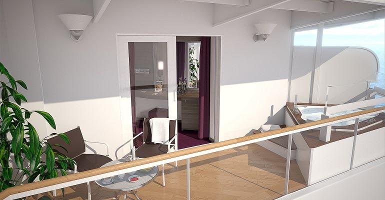 Suite Balcon Aurea et Jacuzzi - SJ3