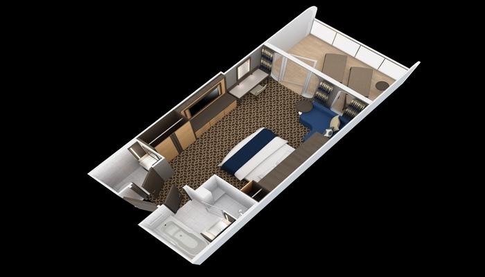Junior Suite avec grand Balcon - J1