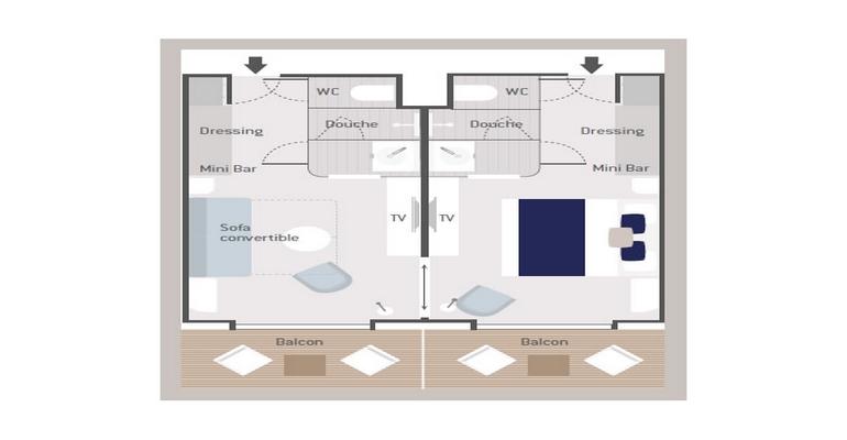 Suite Prestige Pont 6 - PS6