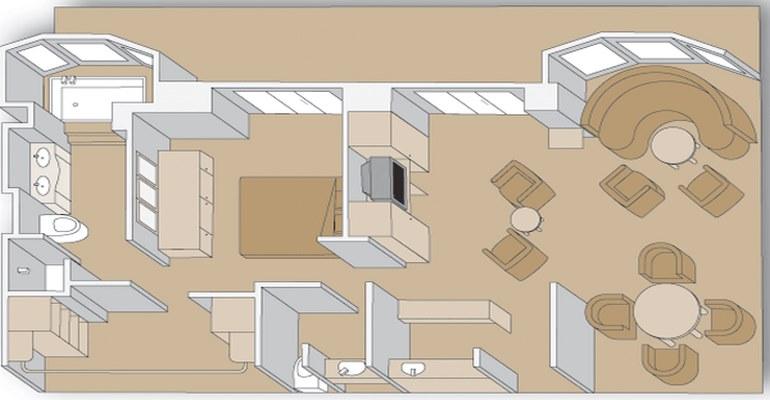 Suite Véranda Penthouse - PS