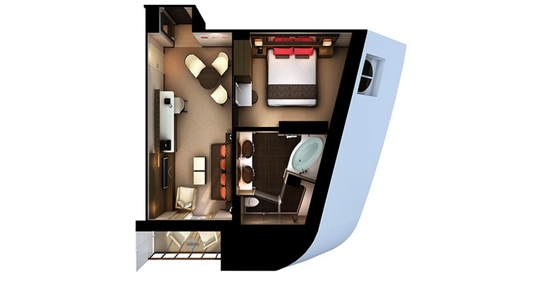 Haven Penthouse Suite - H7
