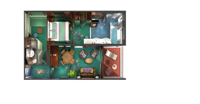 Haven Villa Familiale Balcon - H4