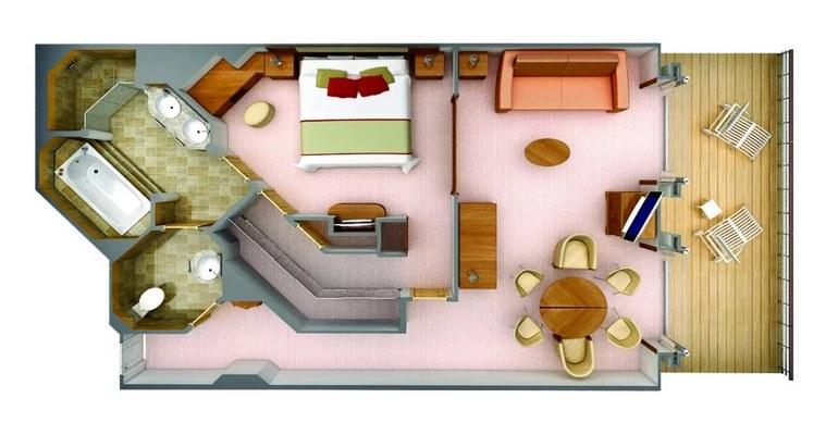 Classic Veranda Suite - B1