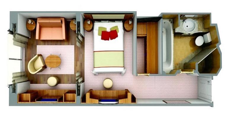 Classic Veranda Suite - B5