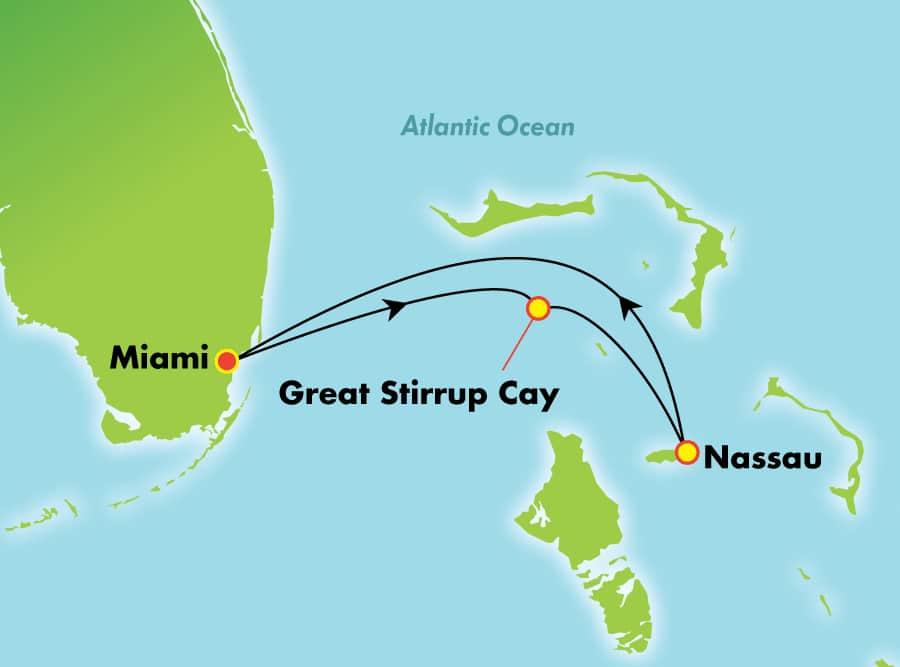 Bahamas au depart de Miami