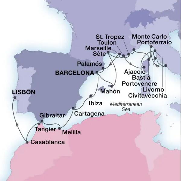 Barcelone - Lisbonne