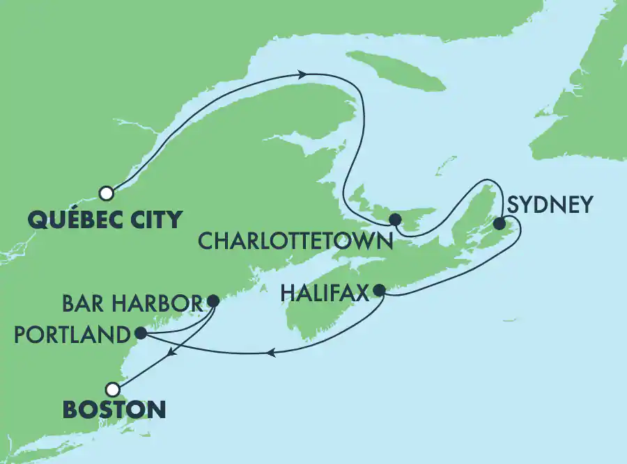 Canada et Nouvelle-Angleterre